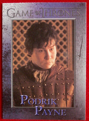 GAME OF THRONES - PODRICK PAYNE - Season 3, Card #70 - Rittenhouse 2014