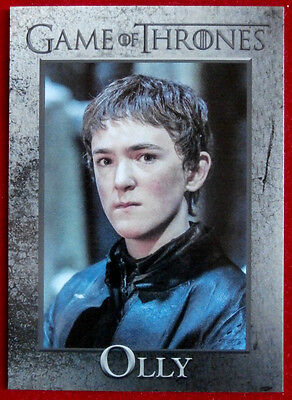 GAME OF THRONES - Season 6 - Card #73 - OLLY - Rittenhouse 2017
