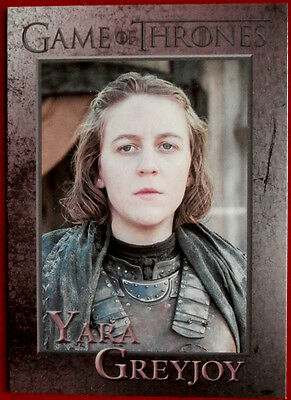 GAME OF THRONES - YARA GREYJOY - Season 3, Card #53 - Rittenhouse 2014