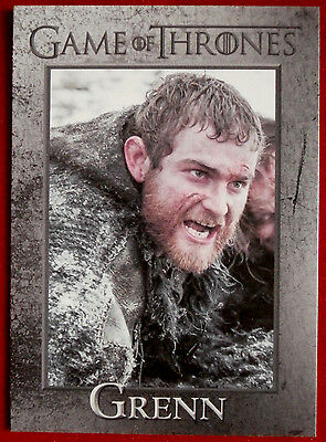 GAME OF THRONES - GRENN - Season 3, Card #62 - Rittenhouse 2014