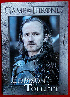 GAME OF THRONES - Season 6 - Card #65 - EDDISON TOLLETT - Rittenhouse 2017