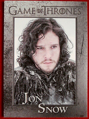 GAME OF THRONES - JON SNOW - Season 3, Card #41 - Rittenhouse 2014