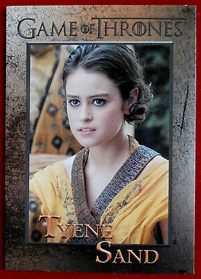 GAME OF THRONES - Season 6 - Card #79 - TYENE SAND - Rittenhouse 2017