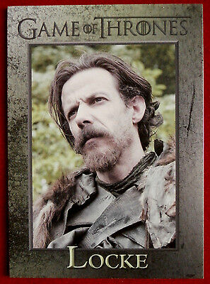 GAME OF THRONES - LOCKE - Season 3, Card #83 - Rittenhouse 2014