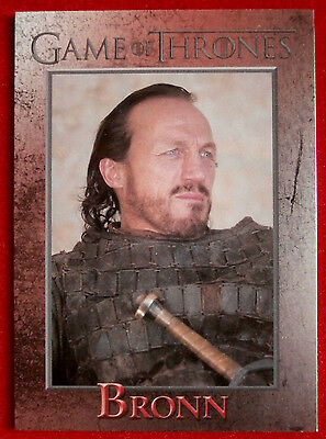 GAME OF THRONES - BRONN - Season 3, Card #40 - Rittenhouse 2014