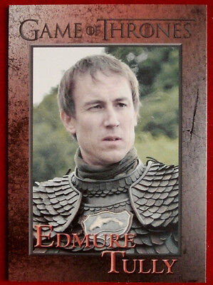 GAME OF THRONES - EDMURE TULLY - Season 3, Card #77 - Rittenhouse 2014