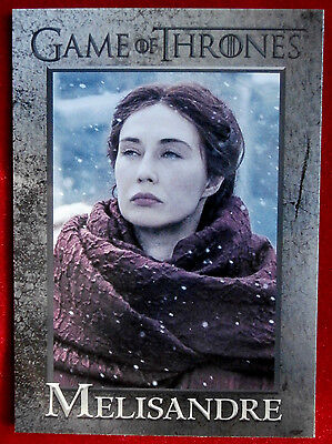 GAME OF THRONES - Season 6 - Card #39 - MELISANDRE - Rittenhouse 2017