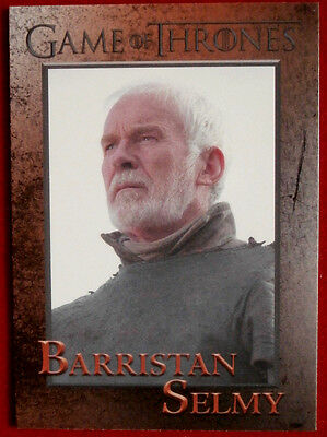 GAME OF THRONES - BARRISTAN SELMY - Season 3, Card #71 - Rittenhouse 2014