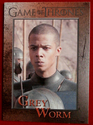 GAME OF THRONES - GREY WORM - Season 3, Card #89 - Rittenhouse 2014