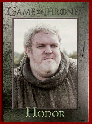 GAME OF THRONES - HODOR - Season 3, Card #59 - Rittenhouse 2014