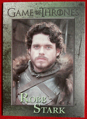GAME OF THRONES - ROBB STARK - Season 3, Card #46 - Rittenhouse 2014