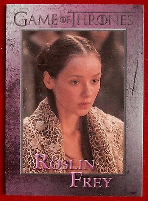 GAME OF THRONES - ROSLIN FREY - Season 3, Card #84 - Rittenhouse 2014