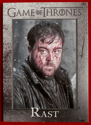 GAME OF THRONES - RAST - Season 3, Card #95 - Rittenhouse 2014