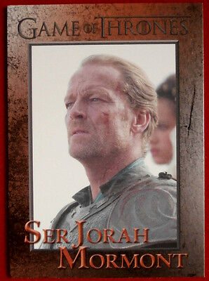 GAME OF THRONES - SER JORAH MORMONT - Season 3, Card #63 - Rittenhouse 2014