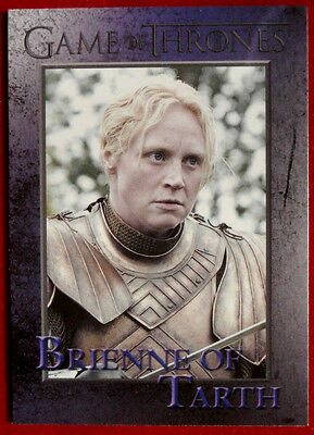 GAME OF THRONES - BRIENNE OF TARTH - Season 3, Card #44 - Rittenhouse 2014