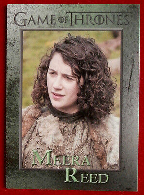 GAME OF THRONES - MEERA REED - Season 3, Card #86 - Rittenhouse 2014