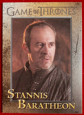 GAME OF THRONES - STANNIS BARATHEON - Season 3, Card #57 - Rittenhouse 2014