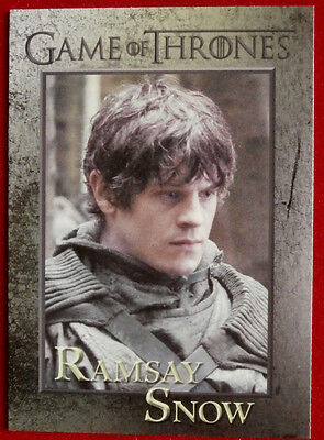 GAME OF THRONES - RAMSAY SNOW - Season 3, Card #87 - Rittenhouse 2014
