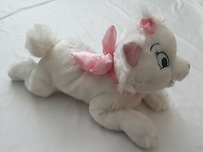 "16"" Disney Parks Authentic Original Aristocats Marie White Plush"