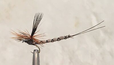 Adams Superfly - Dry Fly - Trout Fishing Flies - 12 Flies X Size #12
