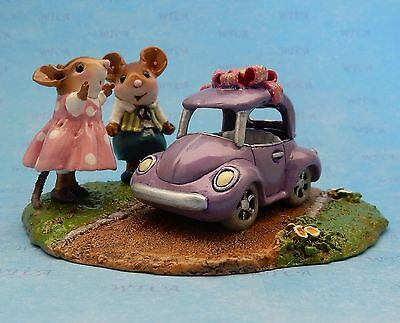 DREAM RIDE by Wee Forest Folk, Mouse Expo 2017, Pink Girl, Sweet 16 car