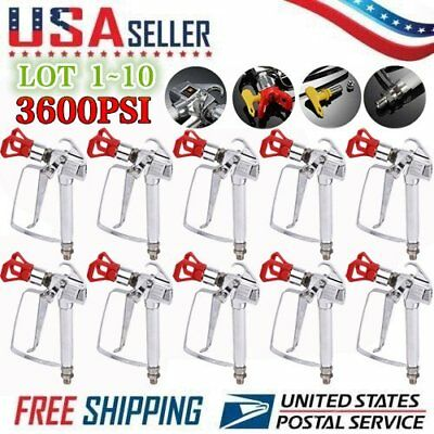 Airless Paint Spray Gun 3600PSI Guard For  Wagner Sprayers LOT US