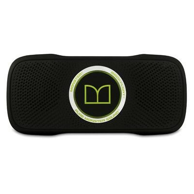 Monster Superstar Backfloat Wireless Speaker - Near New with carry pouch