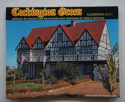 Cockington Green Canberra Act View Folder & Envelope Postcard