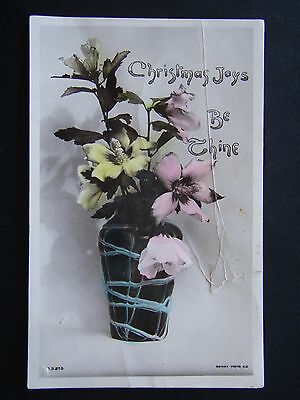 CHRISTMAS JOYS BE THINE ROTARY PHOTOGRAPHIC SERIES XS273 d. 19-12-1907 POSTCARD
