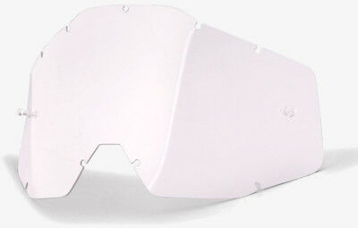 100% Replacement Anti-Fog Goggle Lens Clear