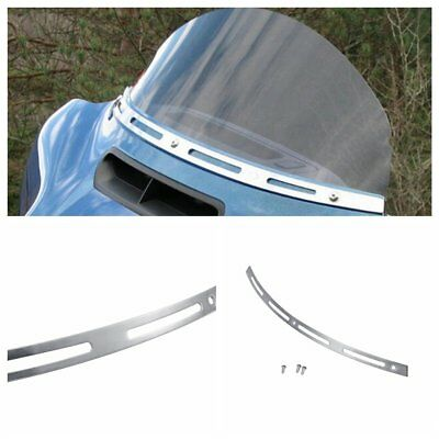 Stainless Fairing Windshield Trim for Harley Touring Electra Ultra Classic 96-13