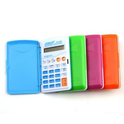 Portable Mini Electronic Calculator Function Candy Color Calculating Scho fast