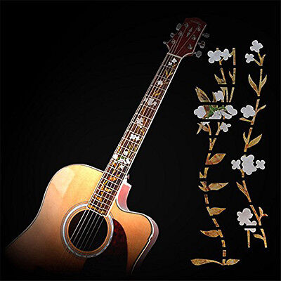 Flower Guitar Sticker Fret Fretboard Markers Decals for Electric/Acoustic gtsw
