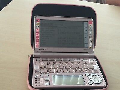 Casio E-SF200 electronic digital Chinese-English dictionary pink+case NAATI