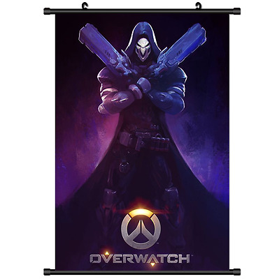 B2960 Blizzard Game Overwatch Reapper anime manga Wallscroll Stoffposter 25x35cm