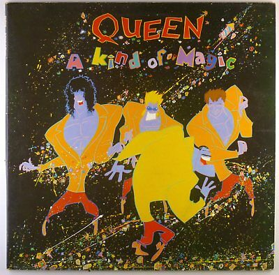 "12"" LP - Queen - A Kind Of Magic - K6936 - cleaned"