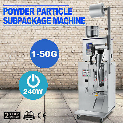 50g Automatic Weighing Packing Filling Machine Particles Beans,Sesame,Seeds,Salt