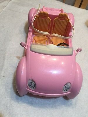 Barbie 2006 Pink Beach Glam Cruiser Convertible Sport Car Mattel