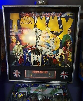Tommy The Who Pinball Machine