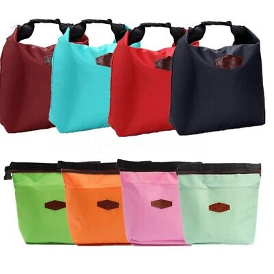 Thermal Small Portable Insulated Cooler Lunch Picnic Storage Bag Carry Tote Box