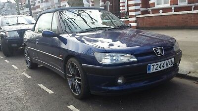 Peugeot 306 2.0 Cabriolet GOOD CONDITION LOW MILES. MOT July 18. 17 inch alloys.