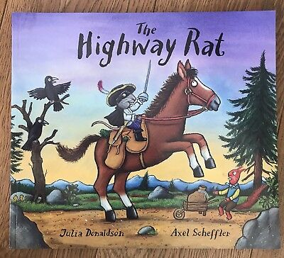 The Highway Rat by Julia Donaldson New Paperback Book Bestseller