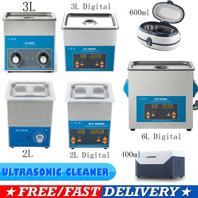 600ml 2L 3L 6L Digital Ultrasonic Cleaner Sonic Jewellery Watch Cleaning Polish