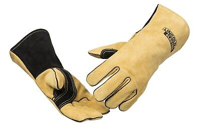 Genuine Lincoln K4082 Welding Gloves Red Line LG MD XL Mig Stick Heavy Duty