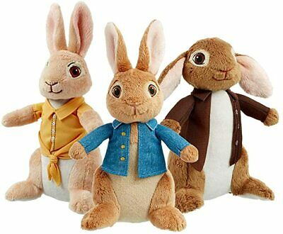 Peter Rabbit The Movie Plush Soft Toy - Peter Or Flopsy New