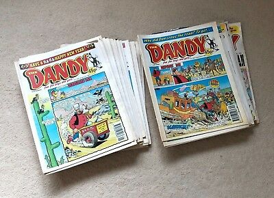 Dandy Comic 1998 Complete Run Bundle- January to December- 54 Comics- Vintage