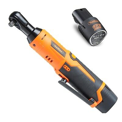 Electric Ratchet Wrench Set Cordless Car Mechanic Tool Rechargeable Battery
