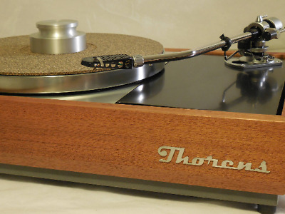 THORENS Laser-cut 3D logo for Turntable