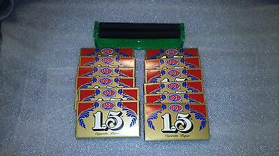 12 Books of JOB 1.5 Rolling Papers + Rolling Machine + Grinder Free Shipping!!