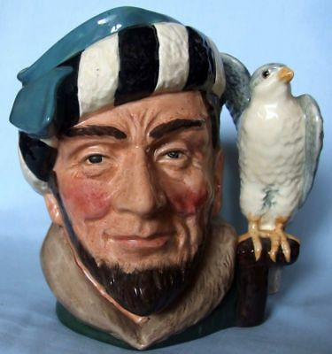 Grande Royal Doulton Caracter The Falconer Limited 1959 D 6533 H Cm 19